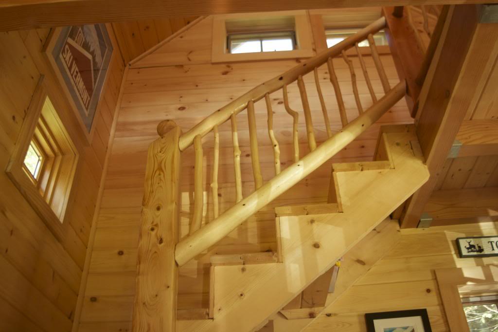 Povedené schodiště do podkrovíčka