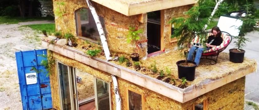 ekologická architektura, dům z kontejneru