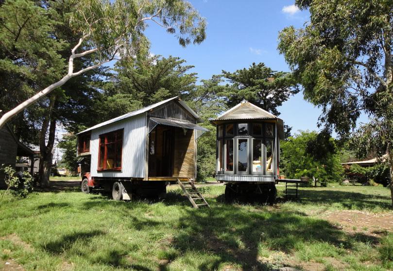 mobilní domy ze dřeva