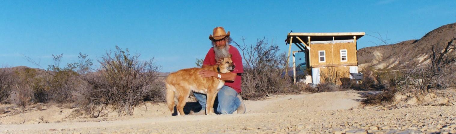 pán a jeho pes